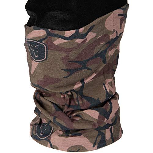 Fox Camo Snood - Multifunktionstuch für Karpfenangler, Halstuch für Angler, Schal, Angelkleidung, Kopfbekleidung zum Angeln