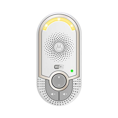 Motorola MBP162 - Vigilabebés audio plug-n-go con modo eco