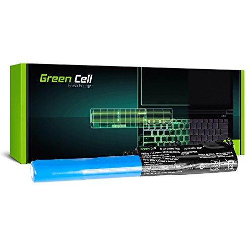 Green Cell Batería Asus A31N1601 A31LP4Q para Asus R541 R541N R541NA R541NC R541S R541SA R541SC R541U R541UA R541UJ Vivobook Max F541 F541N F541NA F541NC F541U X541 X541N X541S X541SA X541U X541UA