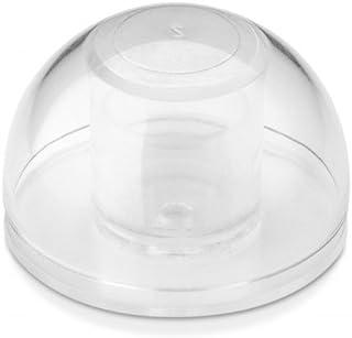 INOFIX 2760B122 - Tope Adhesivo Flexible Transparente Bl 2 U