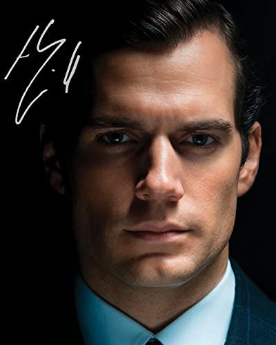 Photo Henry Cavill Signed Autographed 8 x 10 product image