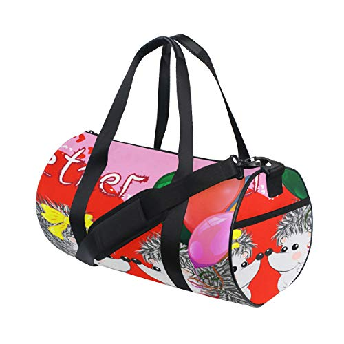Plosds Sunglass Cool Dog Animal Large Yoga Gym Totes Fitness Handbags Travel Duffel Bags Shoulder Strap Shoe Pouch For Exercise Sport Luggage For Girl Men Womens Outdoor
