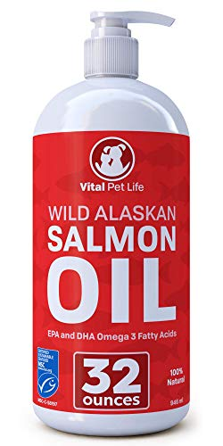 Vital Pet Life Wild Alaskan Salmon Oil