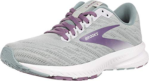 Brooks Launch 7 Antarctica/Lead/Grape 9.5