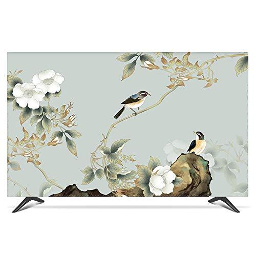 Protector TV Interior Universal Funda para Televisor de 20  - 80  LCD, LED, ó Plasma, A Prueba de Polvo, Decoraciones de Pantalla - 42 Pulgadas Sparrow