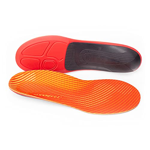 superfeet Run Pain Relief, Plantillas/Ortopédicas Unisexo, Naranja (Tangerine), D (39-41 EU)