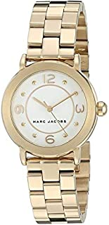 Marc Jacobs Women'S Black Dial Stainless Steel Band Watch - Mj3473,