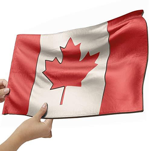 Kanada Flagge als Lampe aus Holz - schenke deine individuelle Kanada Fahne - kreativer Dekoartikel aus Echtholz