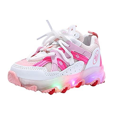 YWLINK Zapatillas De Deporte LED Para NiñOs, Zapatos Brillantes, Zapatos Ligeros,Calzado Deportivo,Calzado Casual,Zapatos De Escalada Al Aire Libre,Zapatillas De Correr Con Suela Blanda