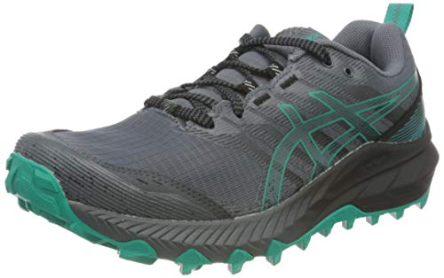 Asics Gel-Trabuco 9, Trail Running Shoe Mujer, Metropolis/Baltic Jewel, 41.5 EU
