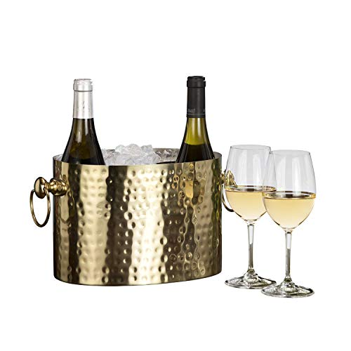 Handcrafted Brass Champagne Wine Chiller