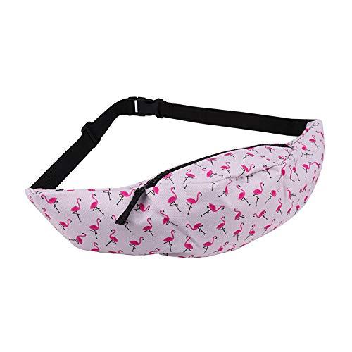 exyau 3D Digital Print Waist Bag, Korean Fashion Chest Bag, Casual Satchel, Sports Bag. Fishing, Running, Hiking, Camping, Hiking.AA07