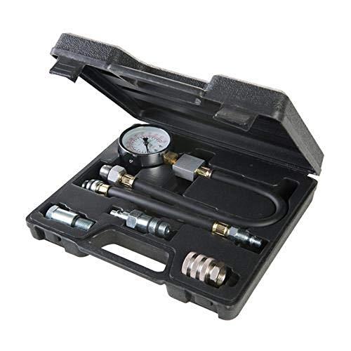 Silverline 598559 Kompressionsprüfer für Benzinmotoren, 5-tlg.