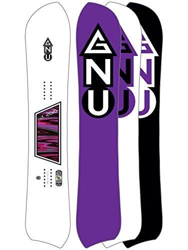 Gnu Damen Freeride Snowboard Cc Zoid 149 Regular