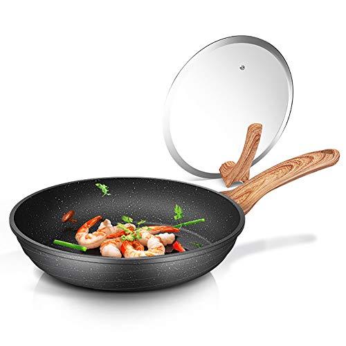 Z·Bling Pfanne Bratpfanne Nonstick 26cm aus Aluminiumlegierung mit Antihaftbeschichtung Omelett Pfanne No-Stick Kochgeschirr Pfanne für Induktion & Backofen