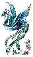 (ファンタジー) THE FANTASY タトゥーシール 鳳凰 火の鳥 不死鳥 Phoenix-1【レギュラー】 (hm217)