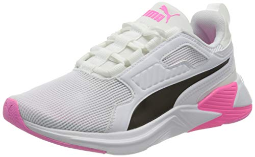 PUMA Damen Disperse Xt WN\'s Gymnastikschuh, White Luminous Pink, 42 EU
