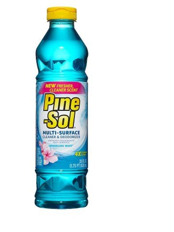 Easy-pour! Pine-Sol Household Cleaner Sparkling Wave, Sparkling Wave28.0 oz.(4pk)