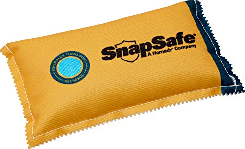 SnapSafe Reusable Dehumidifier Bag 450G, 75908 - Portable, Easy to Use Moisture Absorbers for Gun Safes & Cabinets - Prevent Moisture Damage for Gun Safe Accessories, Firearms in Your Gun Vault