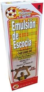 Emulsion De Escocia Mandarin Vanilla 6.5 Oz Vitamin A, B1, D & E Calcium & Phosphorus by Emulsion Escocia