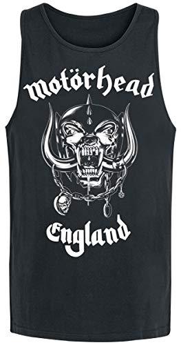 Motörhead England Männer Tank-Top schwarz M 100% Baumwolle Band-Merch, Bands