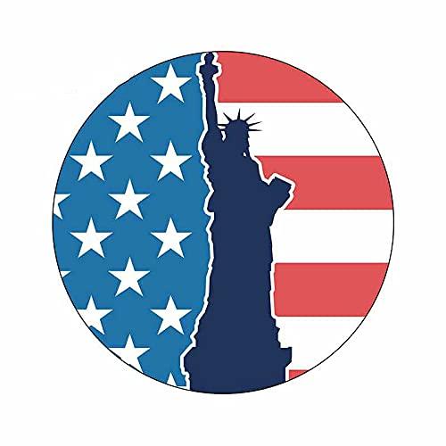 ZCZWQ Para Nueva York Estados Unidos Estatua de Liberty Cool Car Decal Bumper Window Graffiti Sticker13cm x 13cm