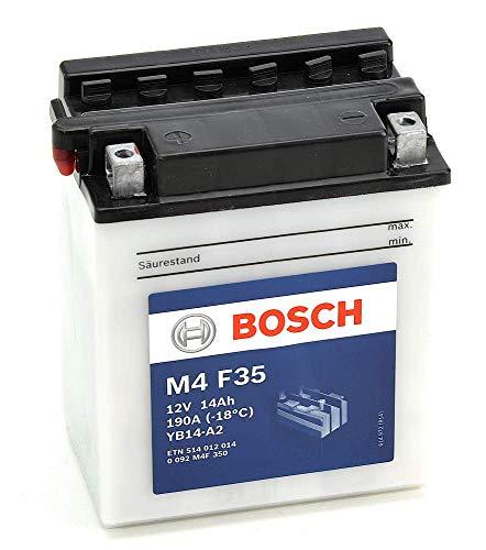 pas cher un bon Batterie moto Bosch M4F35YB14-A2 – Câble 12V 14A / h-190A