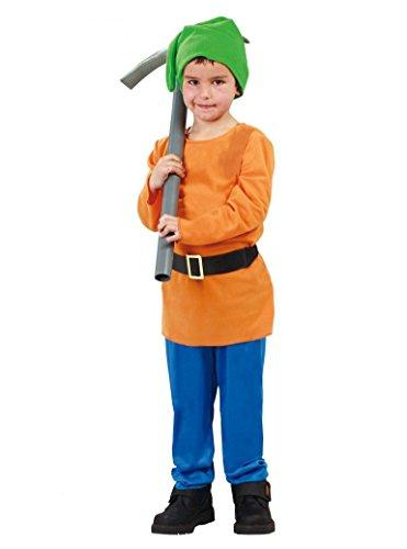 Disfraz de Pitufo enanito (7-9 años)