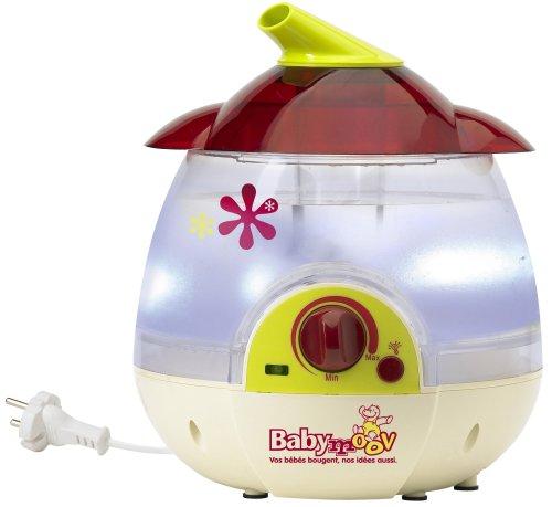 Babymoov A047000 - Luftbefeuchter inklusive Nachtlichtfunktion - Farbe himbeer