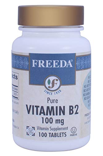 Freeda Kosher Vitamin B-2 100 Mg. - 100 Veg Caps