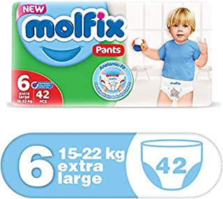 Molfix Anti Leakage Comfortable Extra Large Baby Diaper Pants, 15-22 Kg, 42 Count