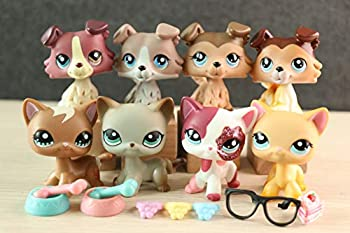 KK lps Shorthair Cat and Collie Lot lps Cats and Dogs 1170 391 339 2291 1262 67 893 58 with lps Accessories Lot