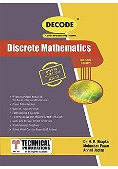Discrete Mathematics for JNTU-H 18 Course (II - II - CSE/IT - CS401PE ) by [Dr. H. R. Bhapkar, Mohandas Pawar, Arvind Jagtap]