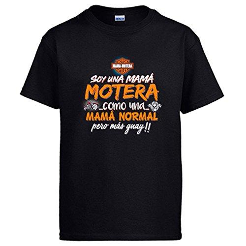 Diver Camisetas Camiseta Soy una mamá Motera Guay