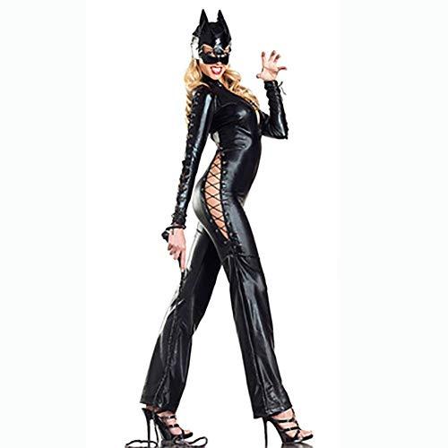 WNRLL Nat look patent lederen panty's Kat meisje gemaskeerd kostuum Nachtclub Paal dans Superman bar DS kostuum