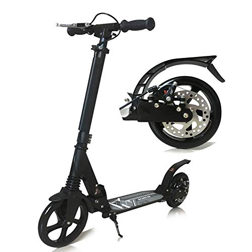 LMK Patinete Scooter de Deportes Al Aire Libre, Ajustable para Adultos con...