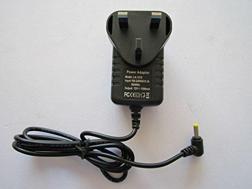 Replacement for 12V 1.5A AC Adapter Charger 4 DBPOWER MK101 Portable DVD...