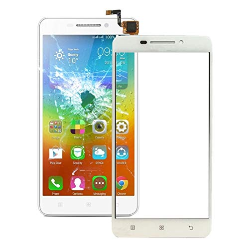 Liluyao Mobile parts For Lenovo A5000 Touch Panel(Black) (Color : White)