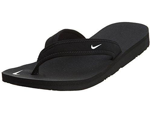 Nike 314870-011, Chanclas Mujer, Negro Black White, 36.5 EU