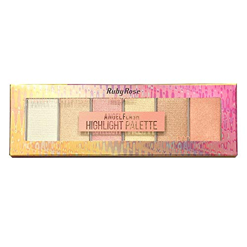 Paleta de Iluminador Pocket Angel Flash HB 7513 - Ruby Rose