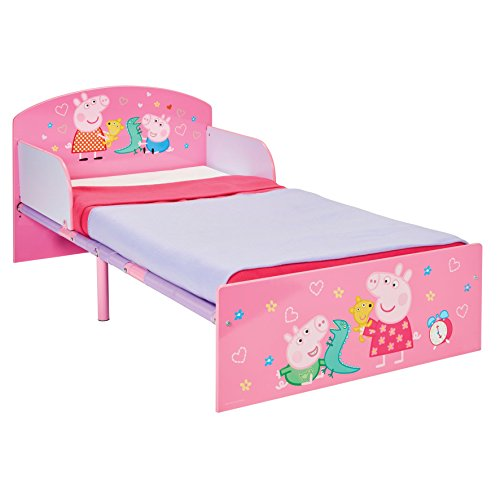 Worlds Apart 516Ped Hello Home Lettino di Peppa Pig, MDF, Multicolore