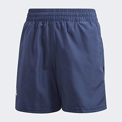 adidas B Club Short Pantalones Cortos de Deporte, Niños, Tech Indigo/White, 5-6Y