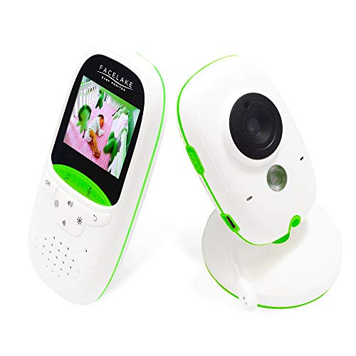 commercial Facelake FL602 video baby monitor with night vision and two-way communication facelake fetal doppler