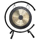 ASY Brass Gong Chau Gong Tam Tam Gong con Soporte y mazo Chino Tradicional Gong Fengshui Gongs (Size : 18cm/7.08in)