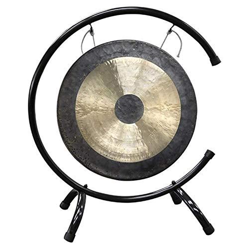 ASY Brass Gong Chau Gong Tam Tam Gong con Soporte y mazo Chino Tradicional Gong Fengshui Gongs (Size...