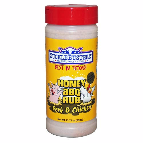 Honey BBQ Rub for Pork and Chicken