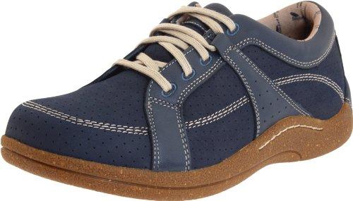 Drew Shoe Women's Geneva, Denim Leather/Nubuck, 7.5