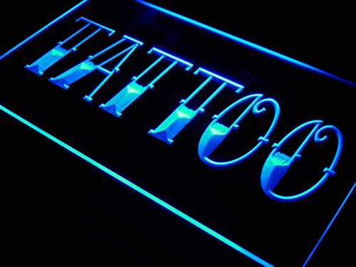 ADV PRO Pizza Shop Dual Color LED Barlicht Neonlicht Lichtwerbung Neon Sign Blau /& Gelb 300 x 210mm st6s32-i0004-by