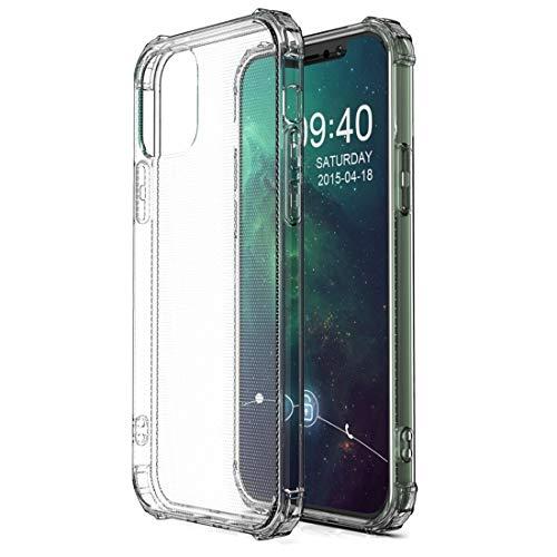 LESLEY LM for el iPhone 12/12 a Prueba de Golpes Caja Transparente Pro TPU Protector 2021 Nuevo uno