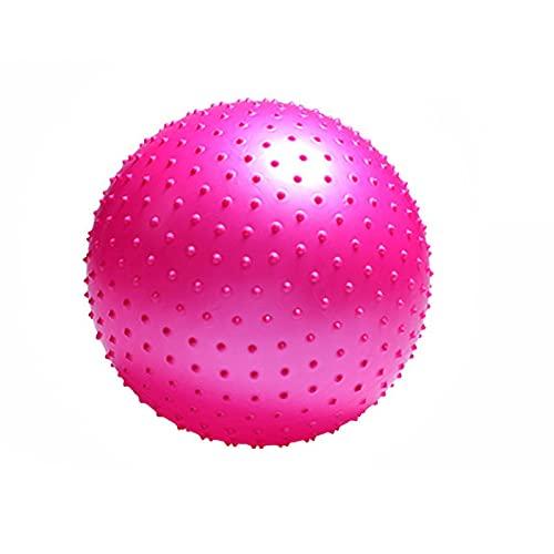 Deportes Yoga Ball Point Fitness Gym Equilibrio Ejercicio Pilates Ejercicio Barbed Barbed Masaje Bola 55cm 65cm 75cm 85cm 65CMPink